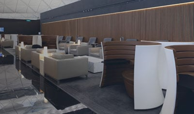 Modern International Airport Lounge